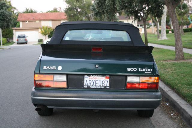 ys3al76l1r7000284 1994 saab 900 turbo convertible 2 door 2 0l cool classic collectors car. Black Bedroom Furniture Sets. Home Design Ideas