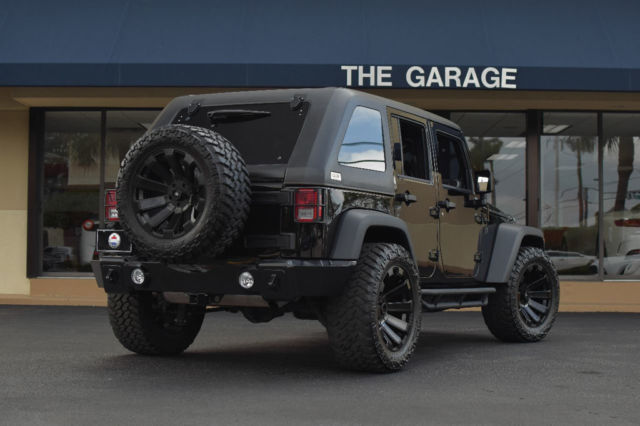 jeep wrangler ulmtd 20 wheels frt rr hdbumpers side steps fast. Cars Review. Best American Auto & Cars Review