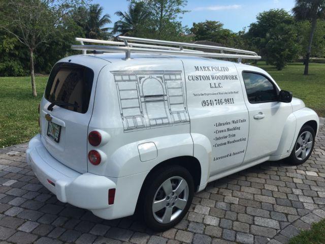 08 Chevy Hhr Panel Cargo Van Dual Side Access Custom Stainless
