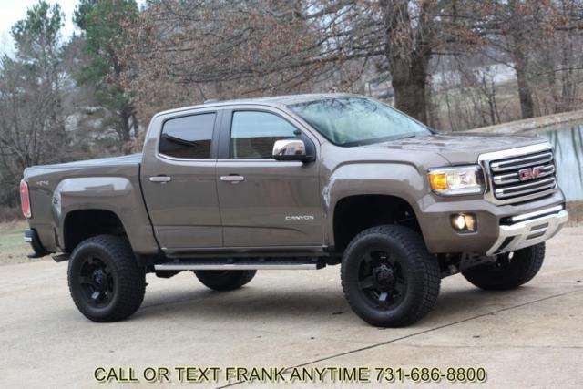 Lifted Gmc Canyon >> 1GTG6DE35G1153081 - 16 GMC Canyon SLT Crew Cab 4X4 Leather 6 Inch Lift Navigation XD wheels Colorado