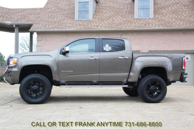 Lifted Gmc Canyon >> 1GTG6DE35G1153081 - 16 GMC Canyon SLT Crew Cab 4X4 Leather 6 Inch Lift Navigation XD wheels Colorado