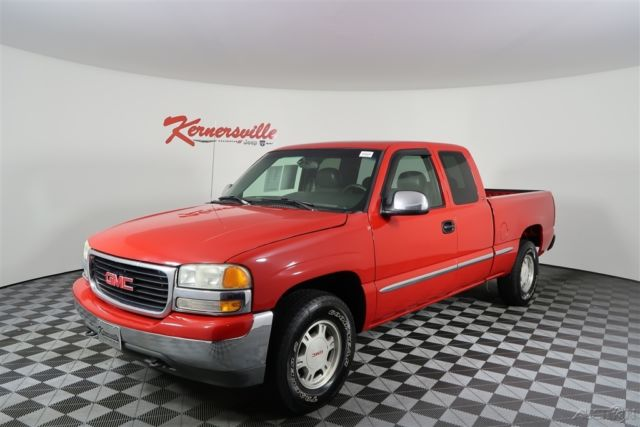 1gtek19t6xe506206 168200 miles 1999 gmc sierra 1500 slt 4wd extended cab truck towing package. Black Bedroom Furniture Sets. Home Design Ideas