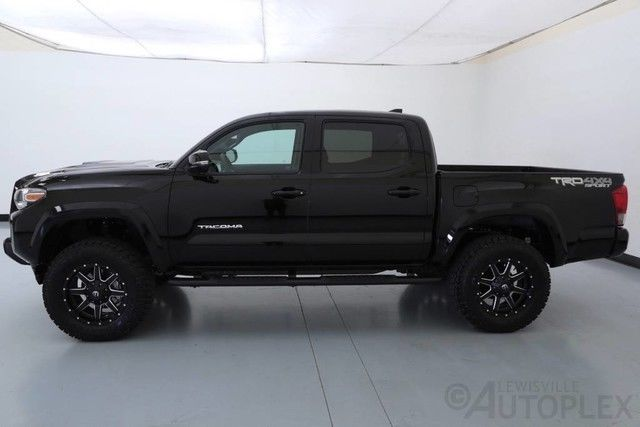 Side Steps For Toyota Tacoma 2017 >> 5TFCZ5AN9HX055964 - 17 Toyota Tacoma TRD Sport 18 Inch Fuel Wheels Pro Comp Level Kit Navigation