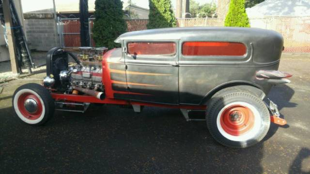1930 ford model a rat rod chopped. Black Bedroom Furniture Sets. Home Design Ideas
