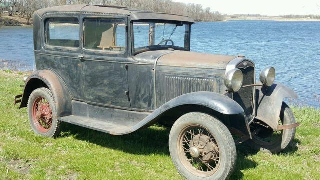 1931 ford model a sedan 2 door patina barn find ratrod hot for 1931 ford 2 door sedan