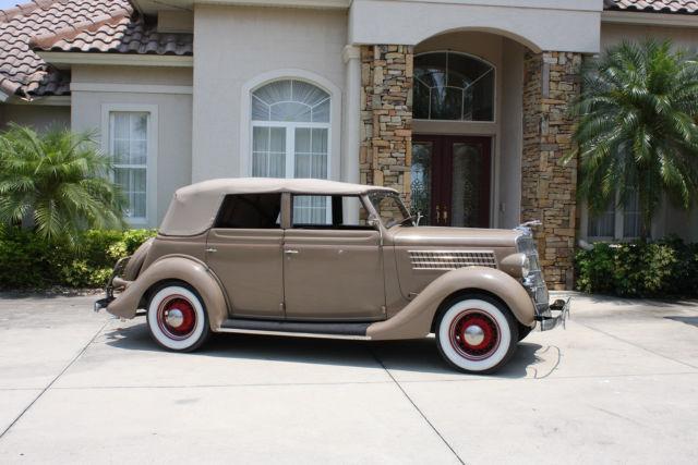 181852781 1935 ford convertible 4 door sedan for 1935 ford 4 door