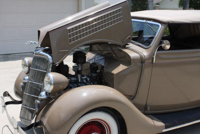 181852781 1935 ford convertible 4 door sedan for 1935 ford 4 door sedan