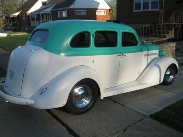 Dxxxxxxxxx 1936 dodge 4 door sedan street rod 350 v 8 for 1936 dodge 4 door sedan