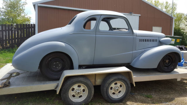 1937 Dodge Coupe Street Rod Project Car For Sale: 1937 Plymouth Coupe Project For Sale