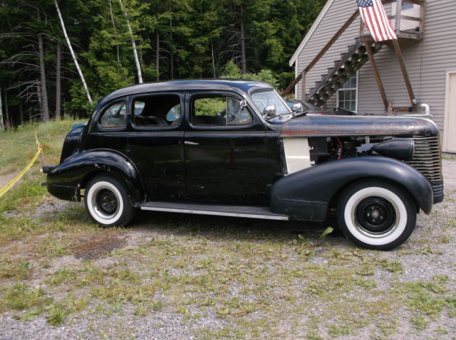 1938 Pontiac Special 350 V8, Auto Chevy Powered Hotrod