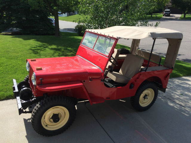 1946 Cj2a Jeep Willys Frame Off Restoration