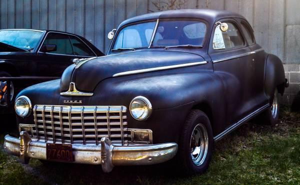 1948 dodge coupe for 1948 dodge 2 door sedan