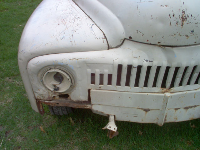 72144 - 1952 International L120 Pickup Solid Wyoming Project