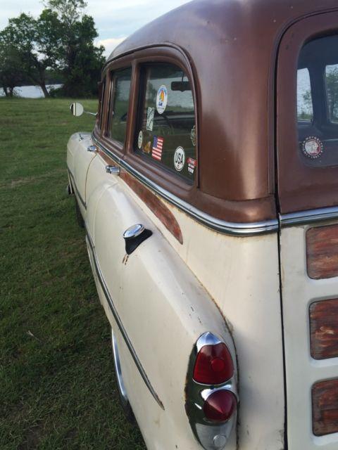 B53s186349 1953 Chevy Tin Woody Wagon