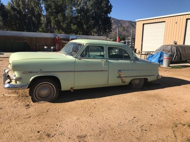 1953 ford 4 door sedan flathead for 1953 ford 4 door sedan