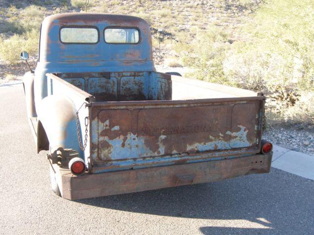 24843 1953 international harvester r110 barn find survivor 1959 International Pickup Truck