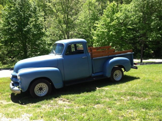 1954 chevy pickup truck 3100 5 window stepside for 1954 chevy truck 5 window