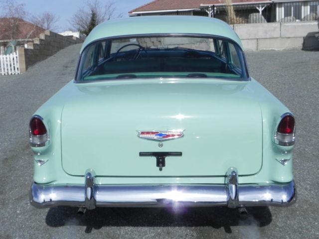 123456789 - 1955 Chevy BelAir Sedan 2 Door Post