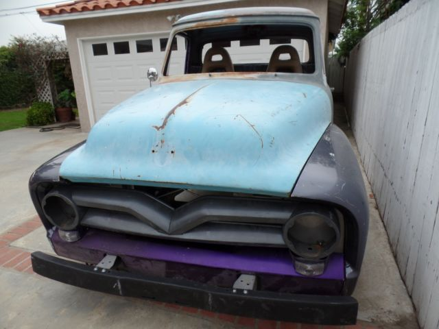 1955 ford project truck html