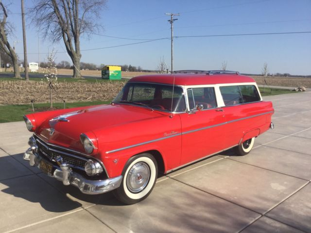 1955 ford ranch wagon 2 door for 1955 ford 2 door wagon