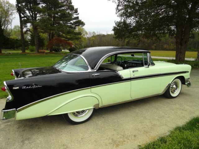 1956 chevrolet belair 4 door hardtop for 1956 chevrolet 4 door hardtop