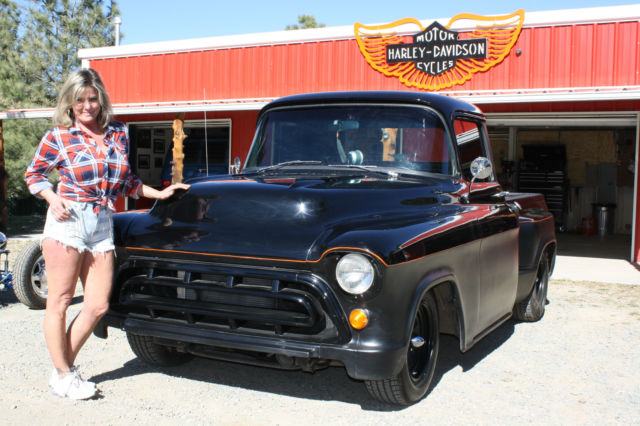 00000000000000000 1957 Chevrolet Truck Custom Not Ford