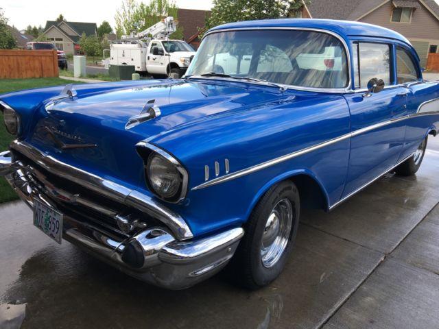 Vb57f 1957 chevy 2 door post for 1957 chevrolet 2 door post