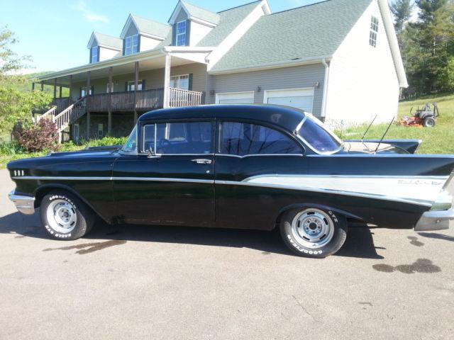 B57a101013 1957 chevy 210 bel air 2 door post for 1957 chevy 210 2 door
