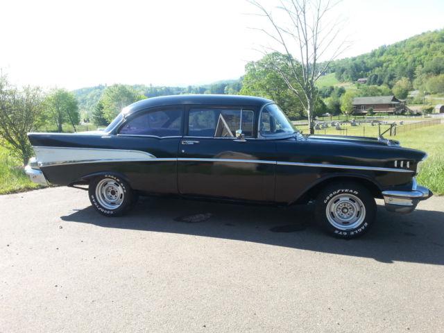 B57a101013 1957 chevy 210 bel air 2 door post for 1957 chevrolet 2 door post