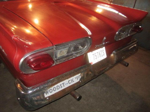 1958 Ford Fairlane 4 Door Hardtop Survivor Car Woodstock