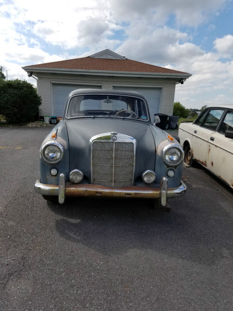 1958 mercedes benz 220s 4 door sedan 6 cylinder gas manual for 1958 mercedes benz 220s for sale