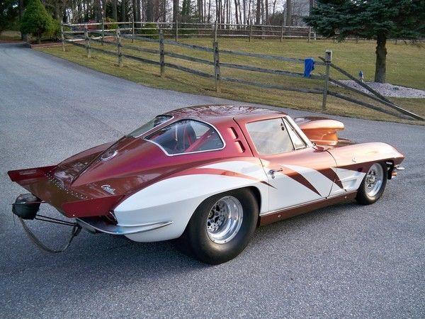 40837s120903 1963 split window corvette drag car easy for 1963 corvette split window model car