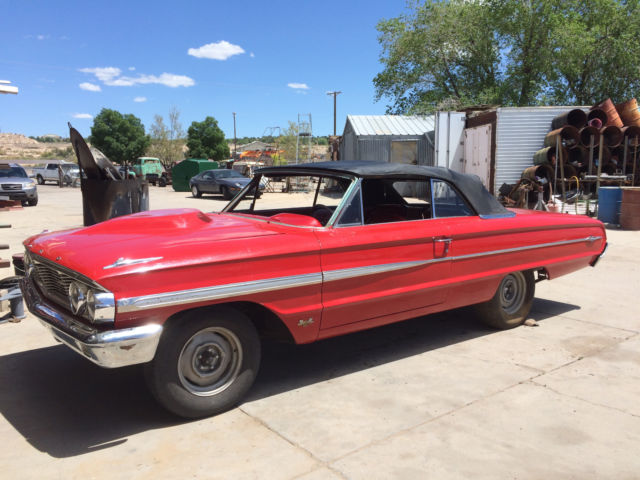 4j65z126600 1964 ford galaxie 500xl convertible 4 speed. Black Bedroom Furniture Sets. Home Design Ideas