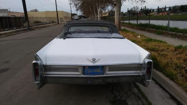 1965 Cadillac Coupe Deville Convertible Solid California Running