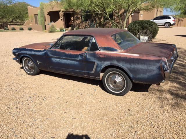 5F07K314394 - 1965 Mustang K Code 289 HiPo Ford Unrestored