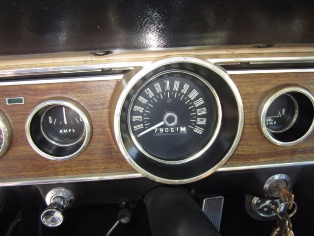 6F09K266628 - 1966 Ford Mustang K Code 289-HiPo Fastback