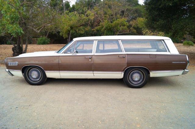1967 mercury colony park station wagon wood panel classic. Black Bedroom Furniture Sets. Home Design Ideas