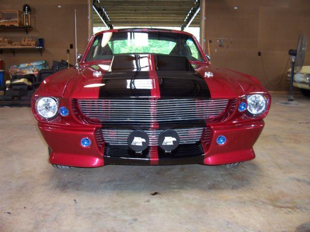 1967 Mustang Eleanor Burnout