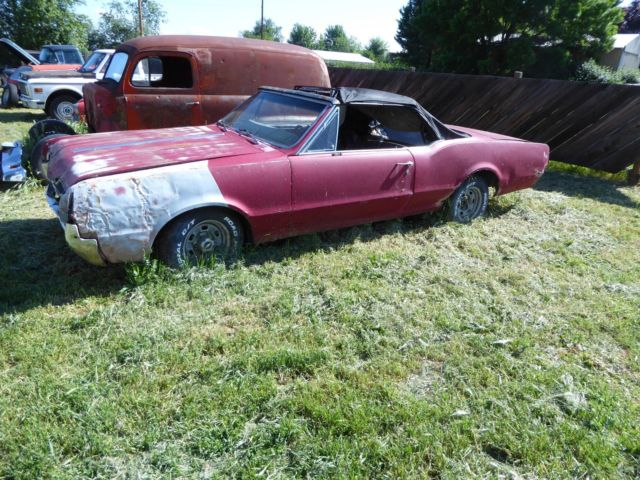 1967 Oldsmobile Cutlass project cars