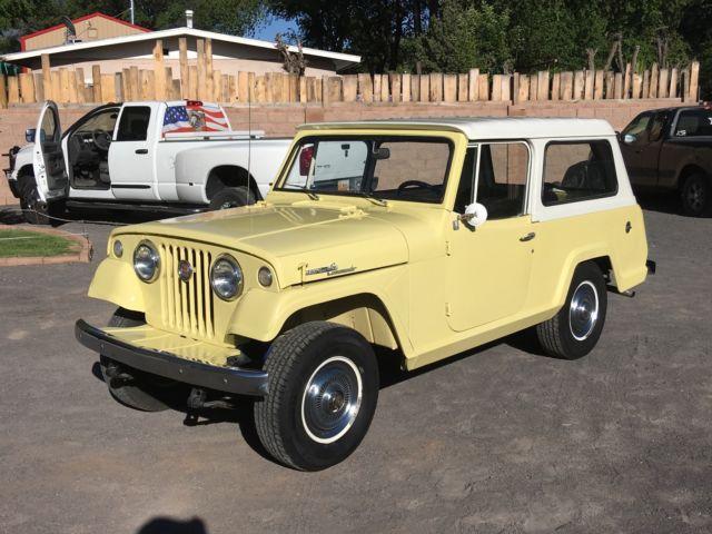 8705f1726058 1968 Jeepster Commando Restored
