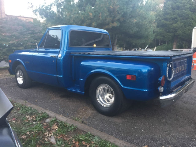 1970 Chevy C10 C 10 454 9 In Pro Street Tubbed Step Side