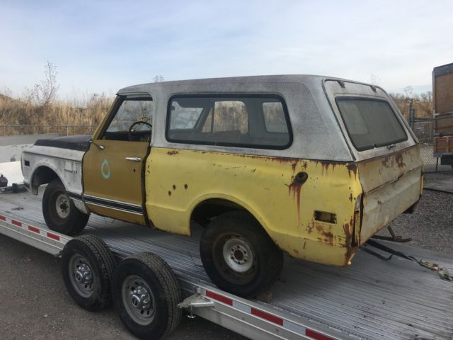 1970 chevy k5 blazer 2wd 1 of 900 made project truck. Black Bedroom Furniture Sets. Home Design Ideas