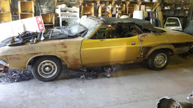 Jh27g1b230665 1971 Dodge Challenger Convertible Project