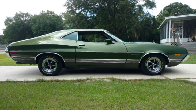 2a35n345333 1972 ford gran torino sport numbers matching for Ford motor company phone directory