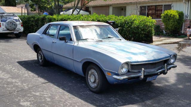 1972 ford maverick 4 door