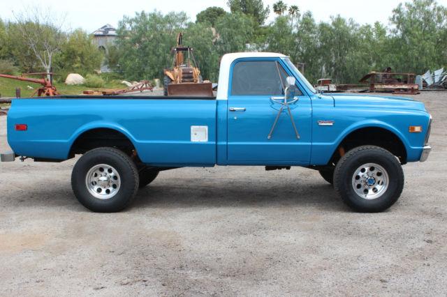 TKE242Z511981 - 1972 GMC K20 4x4 4WD Chevy Truck