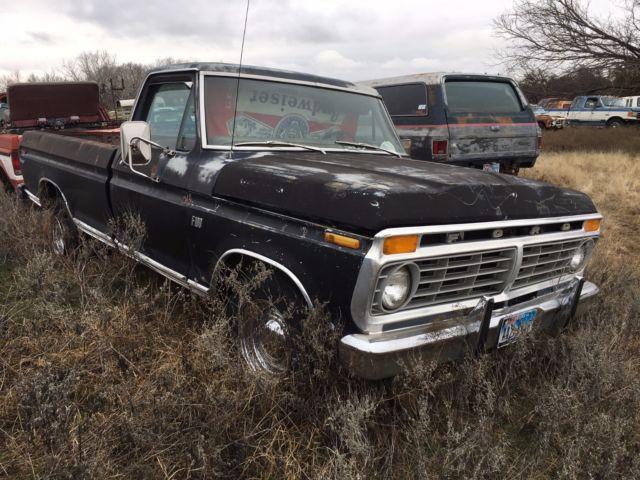 f10yks80022 1973 f100 ranger pickup truck. Black Bedroom Furniture Sets. Home Design Ideas