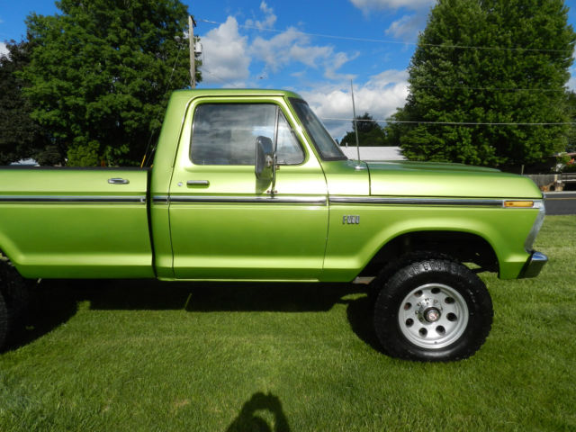Used Ford F250 For Sale >> 1975 FORD F250 4x4 HIGHBOY A MUST SEE 50+ PICTURES BE