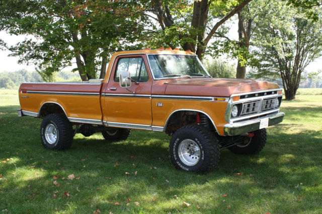 Illinois Car Title Transfer >> 1976 Ford F150 XLT Ranger 4x4. Nice Lifted Classic.1979 ...