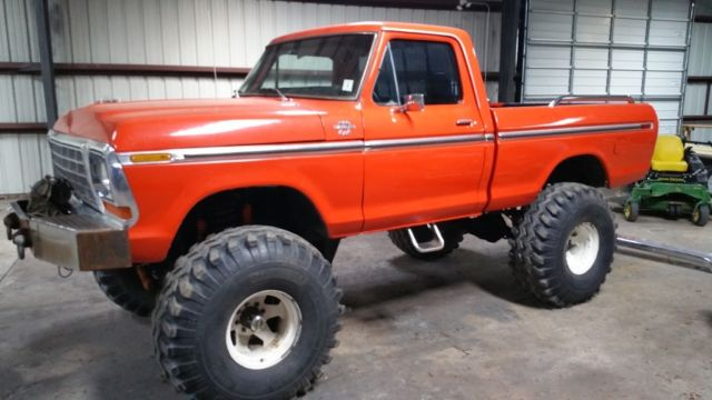 1977 ford f100 4x4  lifted monster truck
